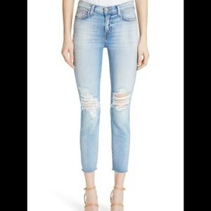 🌺L' AGENCE Denim ripped jeans